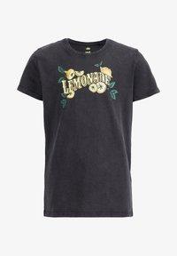 WE Fashion - Print T-shirt - grey - 3