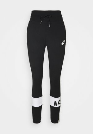 COLORBLOCK PANT - Pantalones deportivos - performance black