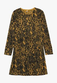 Kids ONLY - KONKIKI ELCOS DRESS  - Jumper dress - golden yellow - 0