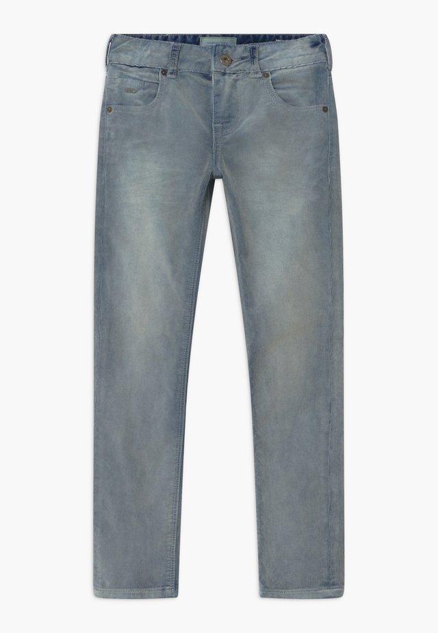 SKINNY FIT - Pantalon classique - slate