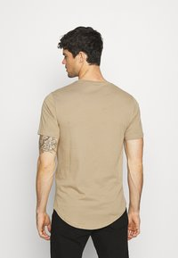 Only & Sons - MATT 7 PACK - T-shirt basic - dark grey melange/dark blue/dark green/beige/dark red