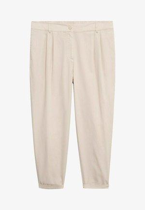 NEWPEPI - Pantaloni - licht pastelgrijs