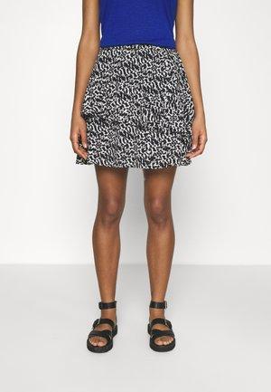 VMOHANNA SKIRT - Mini skirt - black/ohanna birch