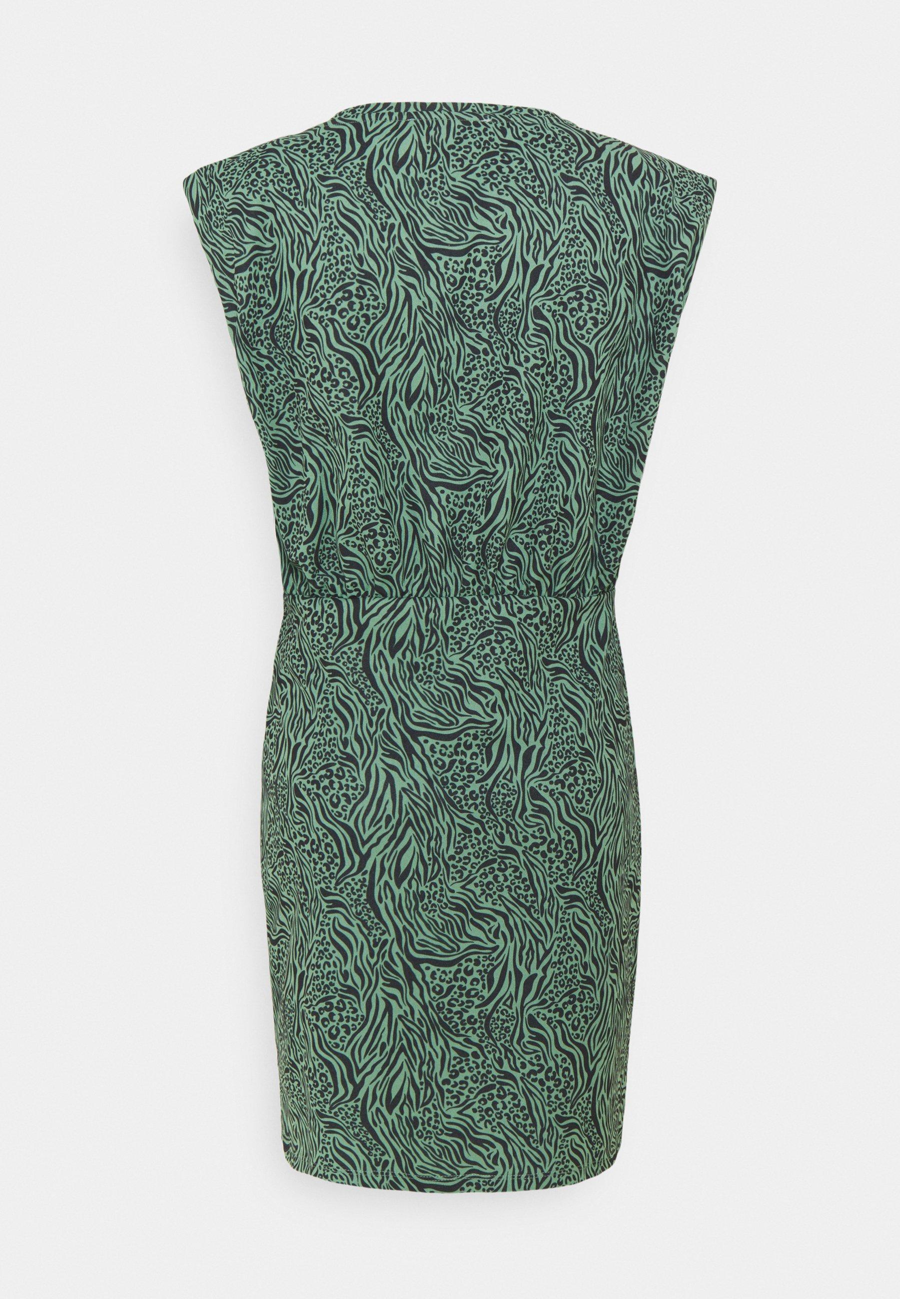 Damen ONLJESSY SHOULDERPAD DRESS - Jerseykleid