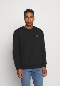 Lee - PLAIN CREW - Sweatshirt - black - 0