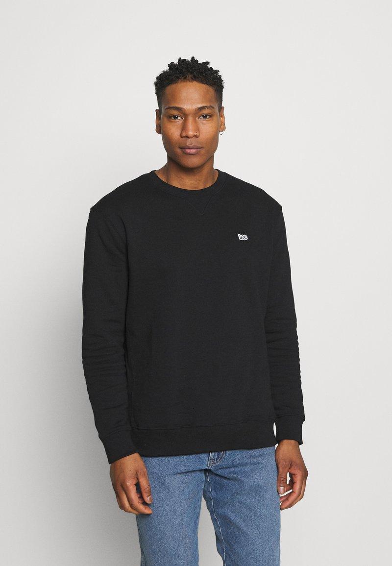 Lee - PLAIN CREW - Sweatshirt - black