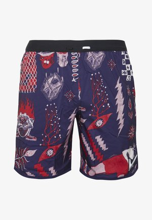 WILD RUN - Sports shorts - imperial purple/black/reflective silver