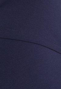Anna Field MAMA - 2ER PACK NURSING FUNCTION DRESS - Etuikjole - dark blue/dark grey - 4