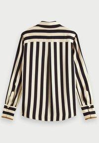 Scotch & Soda - Button-down blouse - black/off-white - 6