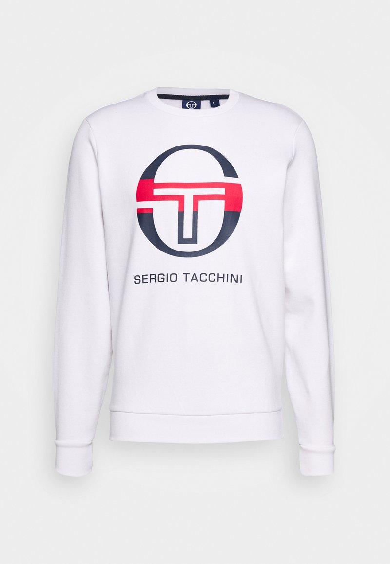 sergio tacchini - ZELDA - Sweatshirt - white/navy/red