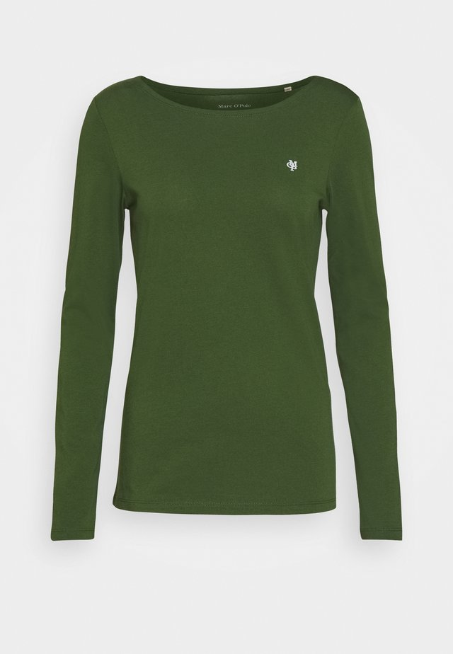 Long sleeved top - lush pine