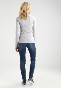 GAP - CREW TEE - Long sleeved top - heather grey - 2