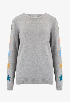 SWEATER STACEY STAR SLEEVE - Jumper - grey