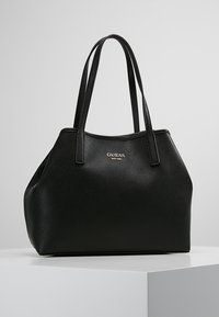 Guess - VIKKY TOTE SET - Sac à main - black - 0