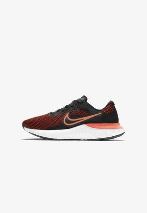 RENEW RUN 2 - Neutral running shoes - black chile red green glow hyper crimson