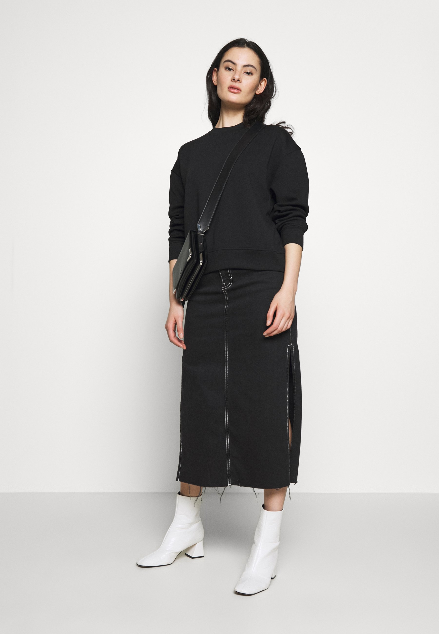 Samsøe Samsøe KELSEY CREW NECK - Sweatshirt - black