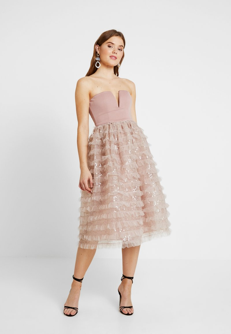 Rare London - SEQUIN DETAIL PROM DRESS - Cocktail dress / Party dress - lilac