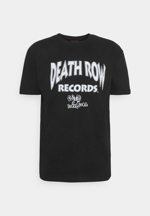 DEATH ROW DOGGY TEE - T-shirt z nadrukiem - black