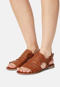 Mustang - Sandals - cognac - 0