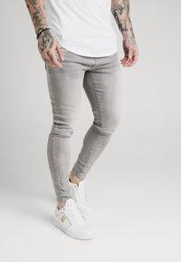 SIKSILK - SKINNY  - Jeans Skinny Fit - washed grey - 4