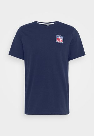 NFL TRUE CLASSICS SHIELD  - Print T-shirt - navy