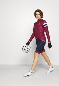 8848 Altitude - CHERIE JACKET LEOPARD - Training jacket - burgundy - 1