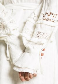 Fabienne Chapot - LEO DRESS - Shirt dress - cream white - 7