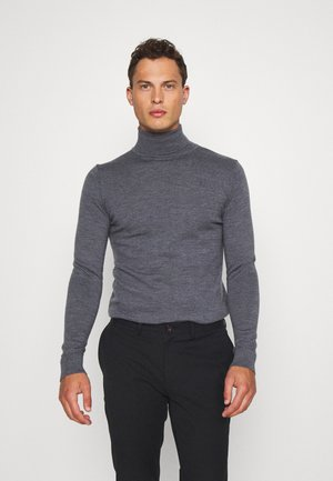 JOHANNES ROLL NECK - Jumper - anthracite
