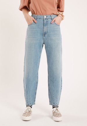 SLOUCHY - Straight leg jeans - denim blue