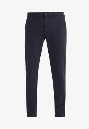 GMT DYE - Chino kalhoty - navy