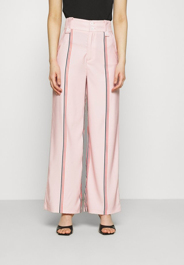 THE NATURAL PANT - Trousers - pink