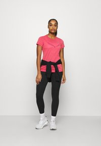 Salewa - SOLID TEE - Print T-shirt - virtual pink melange - 1