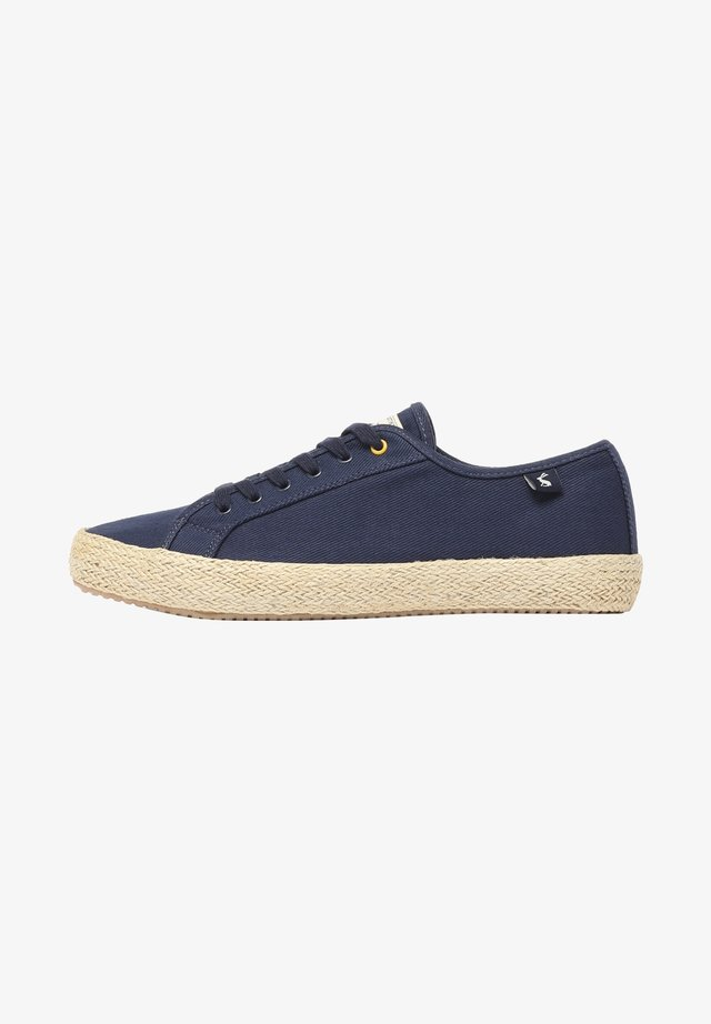 MIT JUTE-DETAIL COAST SUMMER PUMP - Sneakers laag - französisch marineblau