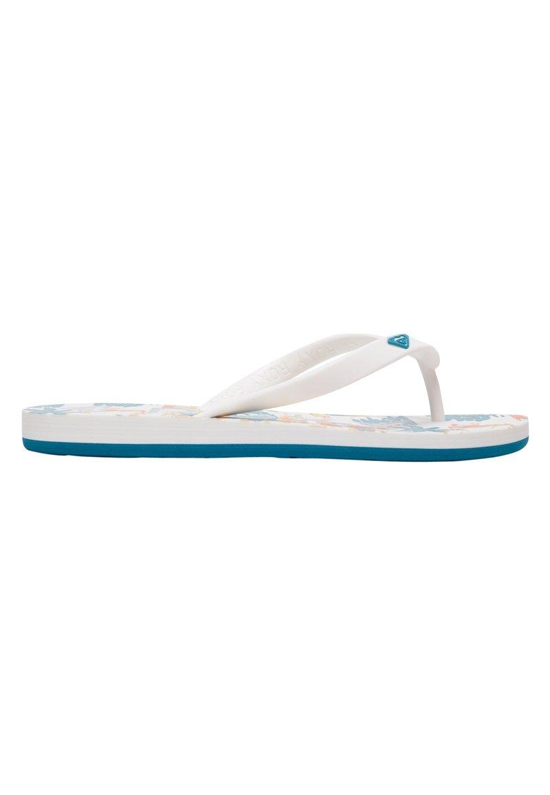 Roxy - TAHITI - Pool shoes - blue/white/orange