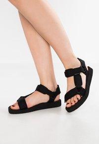 Vero Moda - VMMARBLE - Sandales de randonnée - black - 0