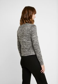 Cotton On - MATERNITY CROSS OVER FRONT LONG SLEEVE - Sweter - grey twist - 2