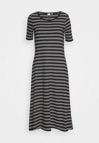 ELLIP MIDI DRESS - Jersey dress - black
