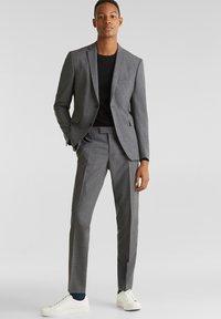 Esprit Collection - ACTIVE SUIT - Pantalon - dark grey - 1