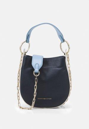 LUXE MINI HOBO - Handbag - blue