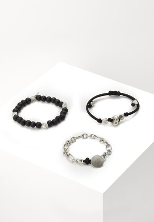 MOON ROCK WRISTWEAR 3 PACK - Pulsera - silver-coloured