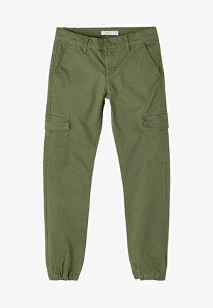 Pantalon cargo - deep lichen green