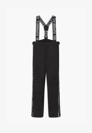 SUSTAINABLE PLAIN - Snow pants - black