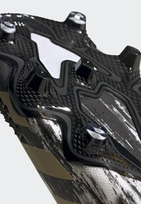 adidas Performance - FOOTBALL FIRM GROUND - Moulded stud football boots - ftwwht/goldmt/cblack - 8