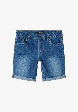 Jeans Shorts - medium blue denim