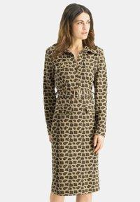 Nicowa - PATINO - Shift dress - braun - 0