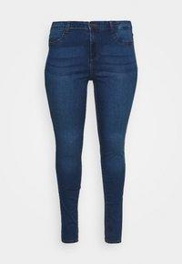 Noisy May Curve - NMCALLIE - Jeans Skinny Fit - medium blue denim - 3
