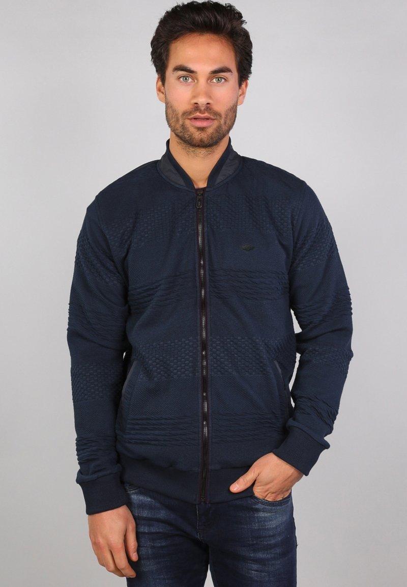 Gabbiano - Zip-up hoodie - navy