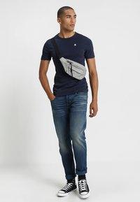 G-Star - DAPLIN - Print T-shirt - sartho blue heather - 1