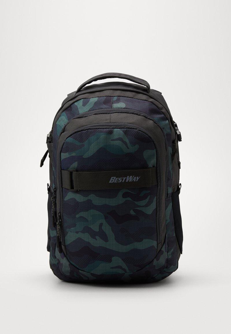 Fabrizio - BEST WAY EVOLUTION - School bag - olive green / khaki