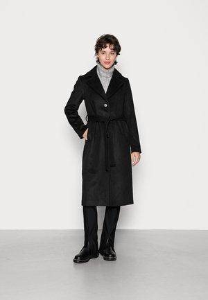 PCSISUN JACKET - Classic coat - black